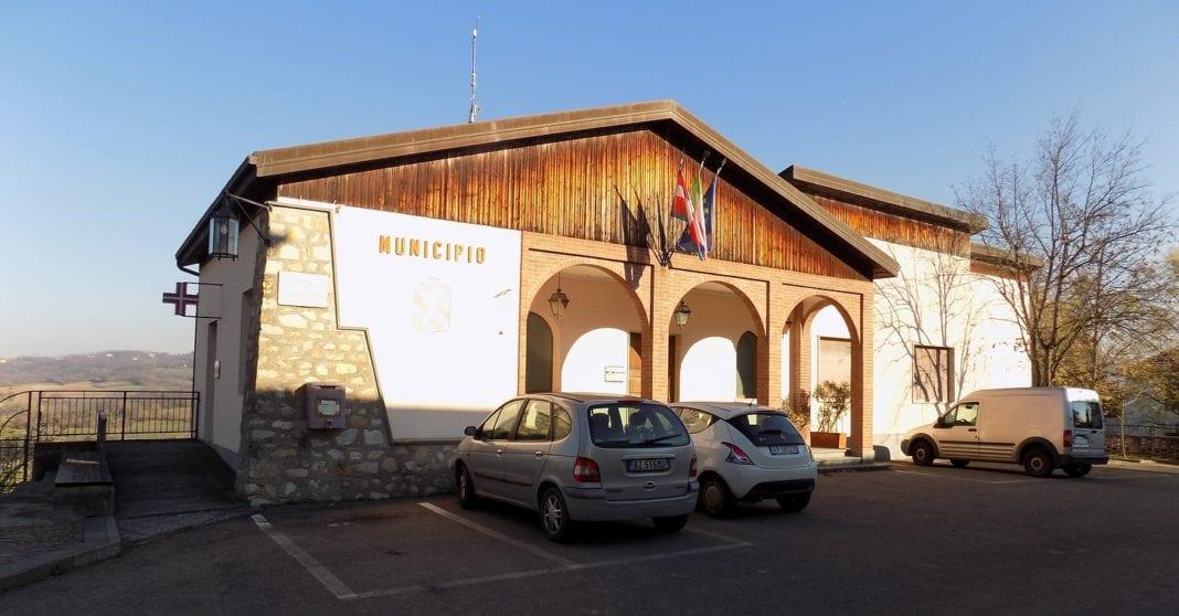Il municipio di Gavazzana