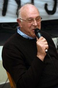 Il sindaco di Sezzadio, Piergiorgio Buffa