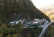 Il cantiere del Terzo valico a Castagnola