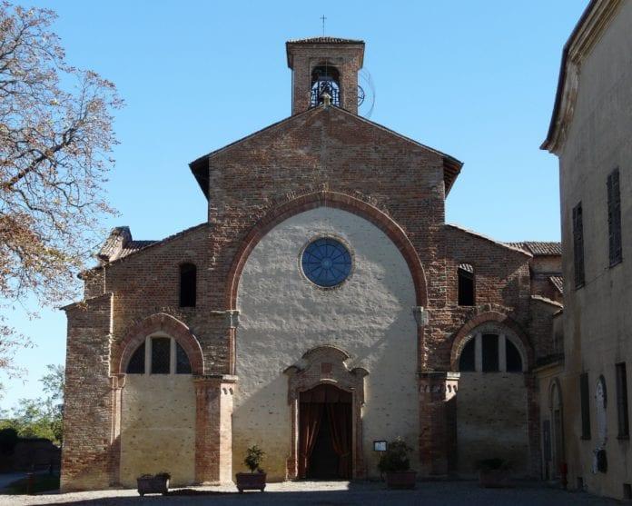 Rivalta Scrivia abbazia-facciata