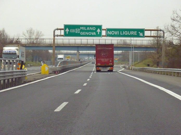 bretella autostradale A7-A26