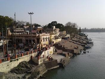 Prima vista di Rishikesh