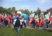 serravalle outlet sciopero