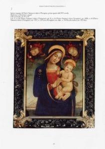 """Il dipinto """"Madonna con bambino e angeli"""""""