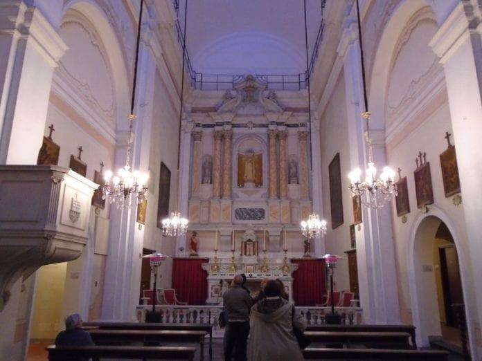 La chiesa dell'ex ricovero di Sant'Agostino a Voltaggio