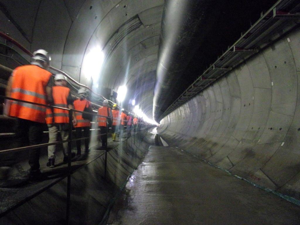 Il tunnel del Valico a Radimero