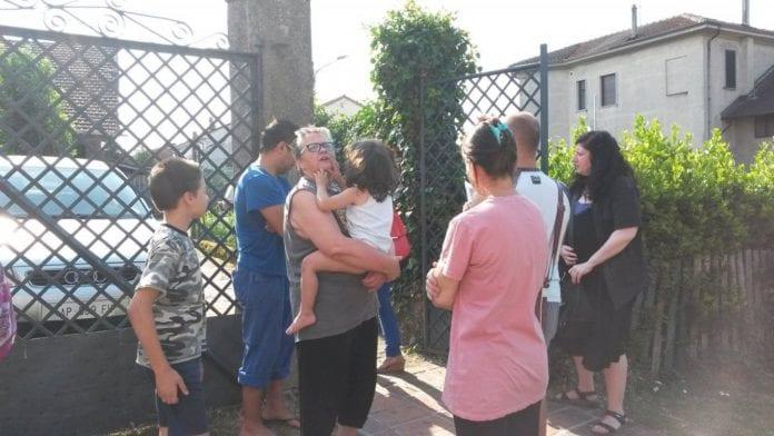 Alluvioni Cambiò: familiari e attivisti davanti alla casa oggetto dello sfratto