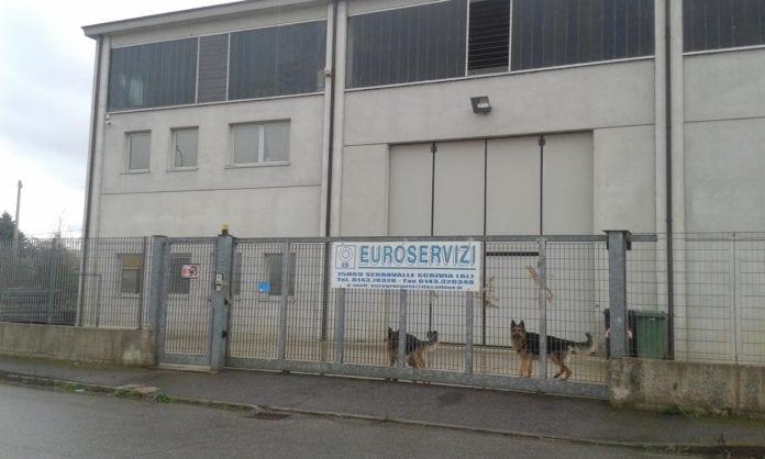La sede della Euroservizi a Serravalle Scrivia