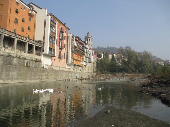 Il Lemme a Gavi nei pressi del rione di Borgonuovo