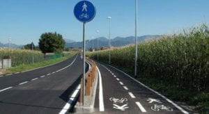 pista pedo-ciclabile (Smart Land)