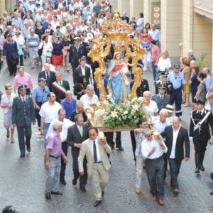 Madonna della Guardia processione