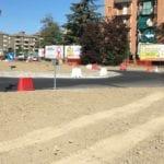 asfalto rotatoria