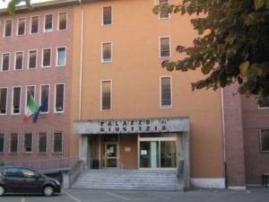 l'ex palazzo di giustizia di tortona