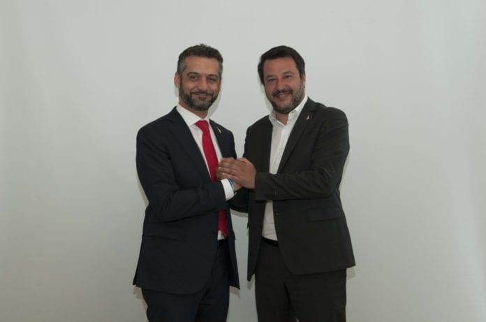 Salvini a Tortona per Chiodi