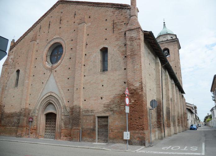Portale e facciata di Santa Maria Assunta -Pontecurone (2)